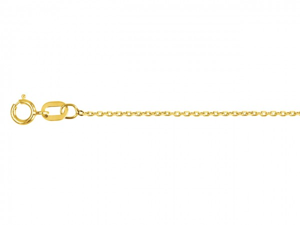 Kette aus 375/9Kt Gold 42cm