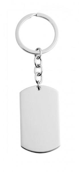 B-WARE Dog Tag Schlüsselanhänger mit Gravur