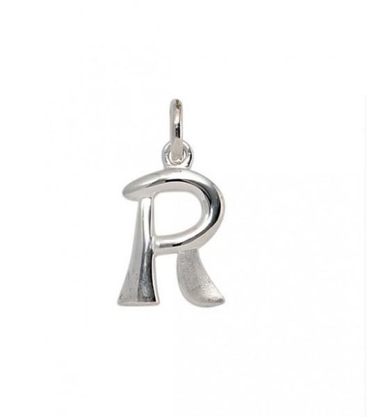 Anhänger Buchstabe R 925er Silber